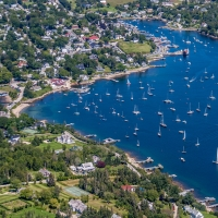Aerial of Chester, NS