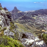 View From Table Mountain Cape Town