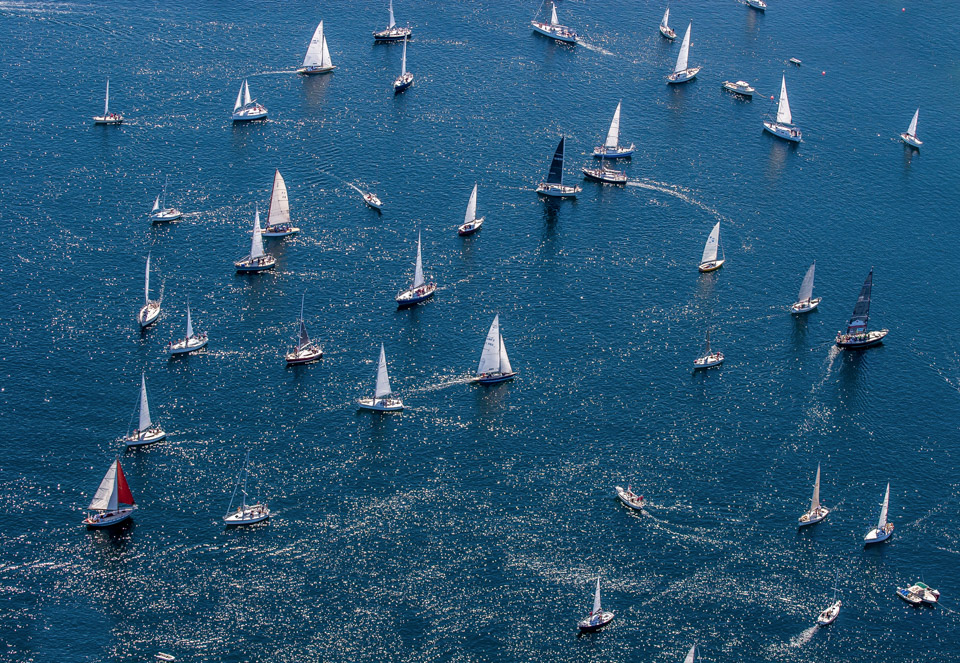Aerial of Chester Raceweek