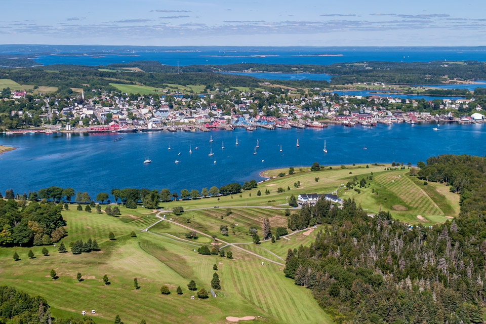 Aerial of Lunenburg Golf Club