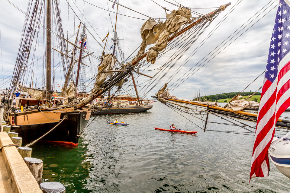Tall Ships in Lunenburg, NS