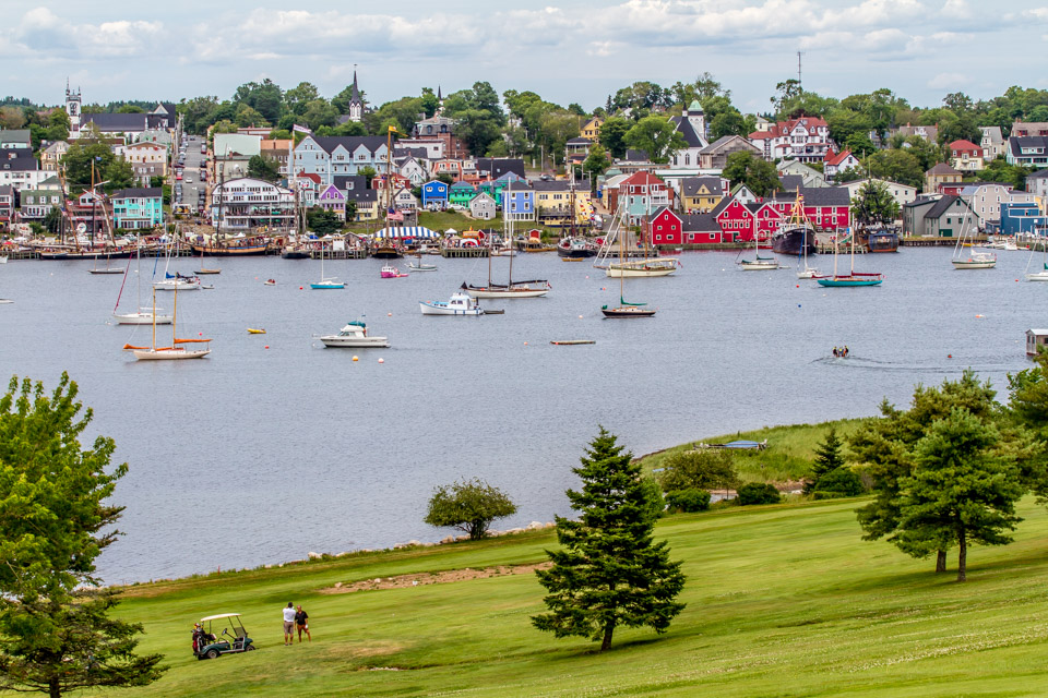 Lunenburg from Golf Course