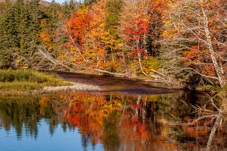 October on Margaree River, NS