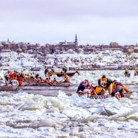 Quebec City Iceboat Racing